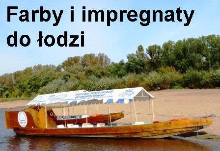 Impregnaty i farby do łodzi.