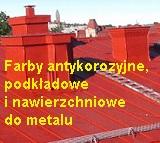 Farby do metalu.